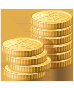 la econom u00eda en gold coin clip art image gold coin clip art printable